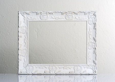 Foto de white frame - Imagen libre de derechos
