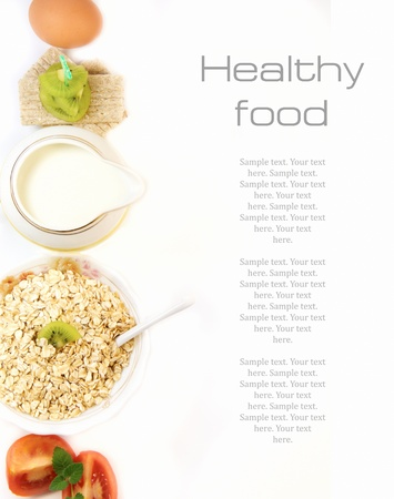 Photo for Healthy food concept  - Royalty Free Image