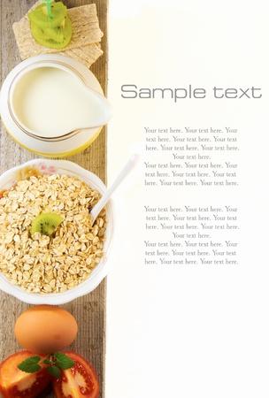 Photo pour Healthy food  - image libre de droit