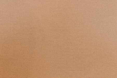 Photo pour Brown cardboard background with vertical strips, paper texture for design. - image libre de droit