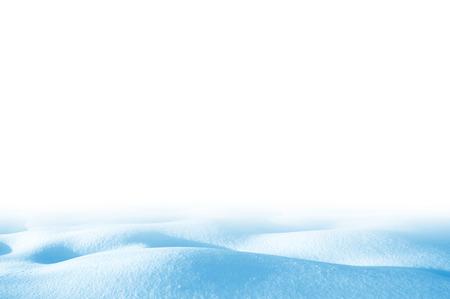 Snowdrift isolated on white background for design