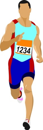 Foto de Long-distance runner. Short-distance runner.  - Imagen libre de derechos