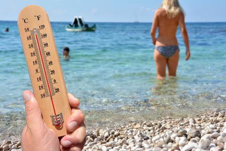 Heat Wave High Temperatures - skin cancer warning