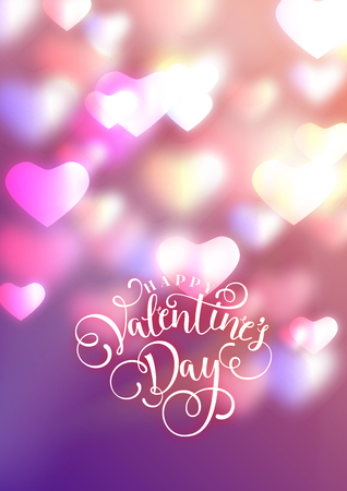 Illustration for Hearts as background. valentines day concept. Vector illustration - Royalty Free Image