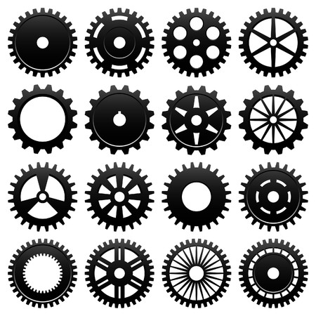 Machine Gear Wheel Cogwheel Vector