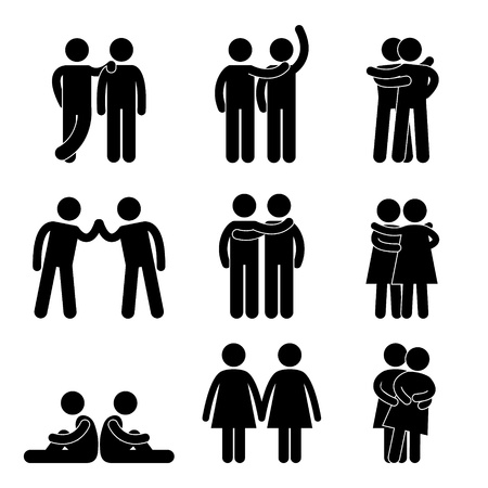 Relationship Icon Symbol Sign Pictogram