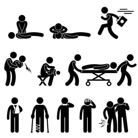 First Aid Rescue Emergency Help CPR Medic Saving Life