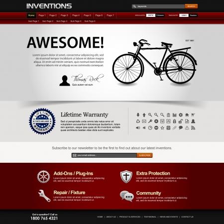 Web Design Website Elements Template