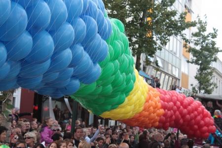 Gay pride carnival