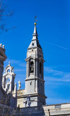 Foto de Elements of the architecture of Spain's capital city of Madrid. - Imagen libre de derechos