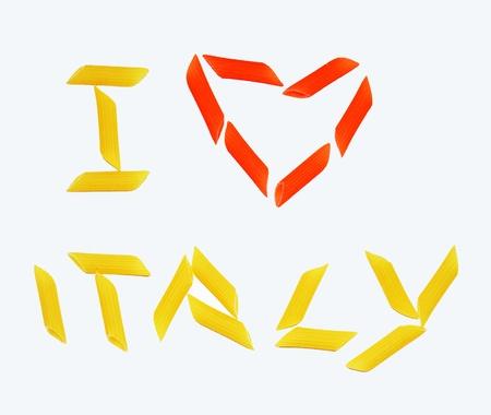Foto per Amo l'Italia - Immagine Royalty Free