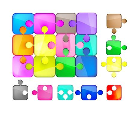 Foto per puzzle colorato - Immagine Royalty Free