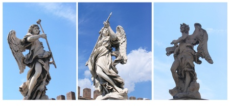 Foto per Statua di Angeli, Roma - Immagine Royalty Free