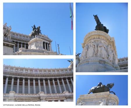 Foto per L'Altare della Patria, Roma - Immagine Royalty Free