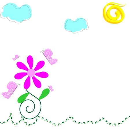 Foto per primavera sfondo - Immagine Royalty Free