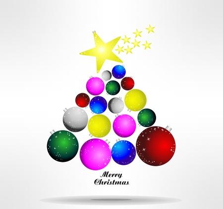 Foto per astratto albero di Natale - Immagine Royalty Free