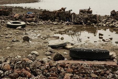 garbage on coast