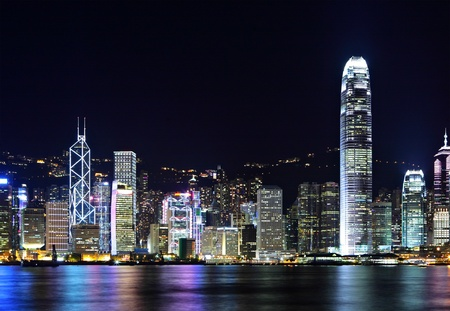 Photo for Hong Kong Skyline - Royalty Free Image
