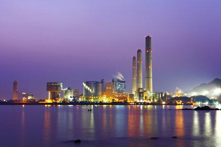 Photo pour Power Plant - image libre de droit
