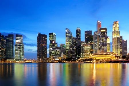 Photo for Singapore skyline - Royalty Free Image