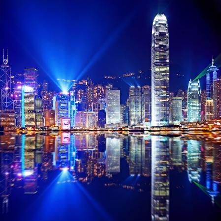 Photo for Hong Kong Island from Kowloon - Royalty Free Image