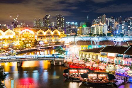 Photo for Singapore night - Royalty Free Image