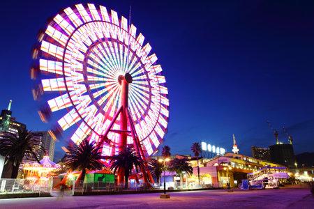 Ferris wheel in Kobe