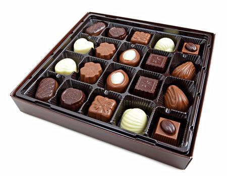 Photo pour Chocolate box - image libre de droit