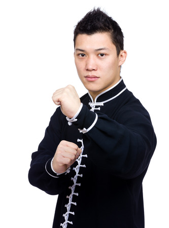 Chinese master ready to fight