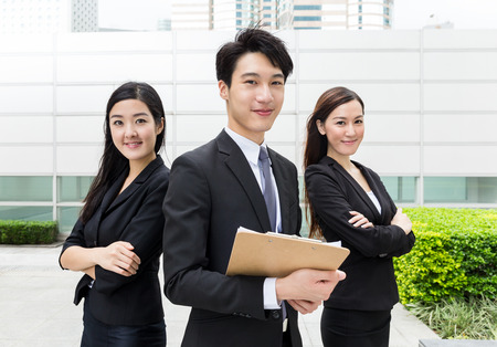 Foto de Business teammate working together - Imagen libre de derechos