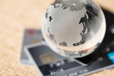 Photo pour Global payment concept - image libre de droit