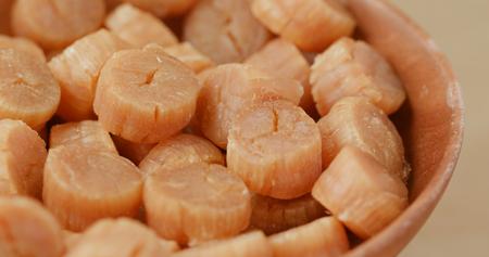 Photo pour Chinese dried scallop - image libre de droit