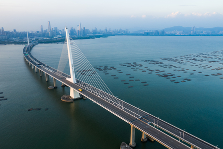 Photo for Shenzhen Bay Bridge - Royalty Free Image