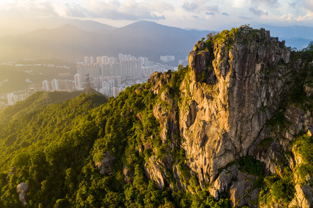 Photo for Lion rock mountain - Royalty Free Image
