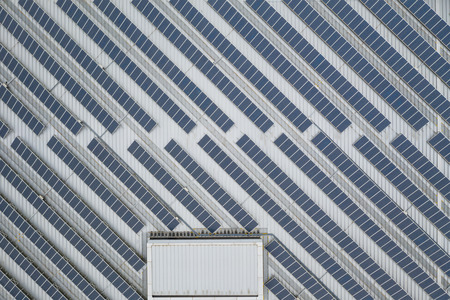 Photo for Top view of Solar panel - Royalty Free Image