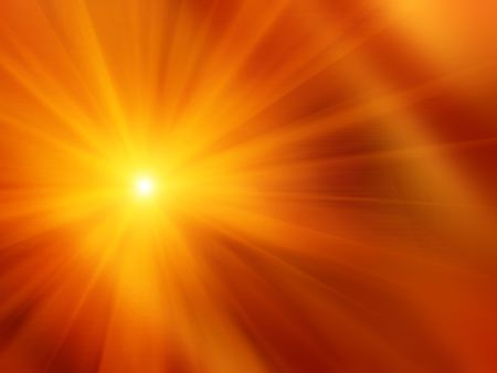 Photo pour Orange smooth background - sunshine - image libre de droit