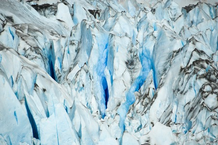 Close up of a glacier