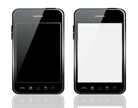 Illustration pour Vector phone isolated on white background - image libre de droit