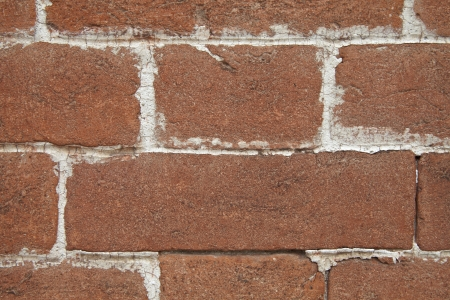 Brick wall with joints