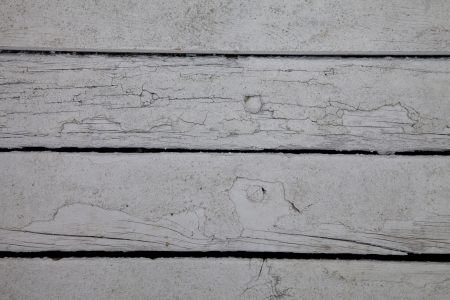 Weathered wooden boards