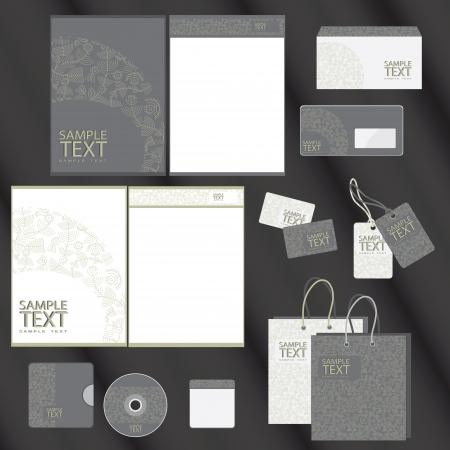 Foto de Template for Business artworks  illustration  - Imagen libre de derechos