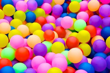 Color balls. bright colors background