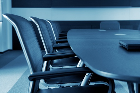 Photo for Empty business conference room interior. - Royalty Free Image