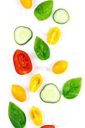 Photo pour Selection of Fresh Organic Vegetables. Healthy food or diet concept - image libre de droit