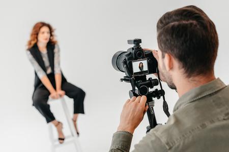 Photo pour fashion shoot - image libre de droit