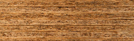 Photo pour background of stacked, pressed wood sheets, banner - image libre de droit