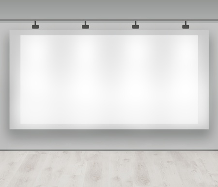 Advertise here - blank advertising banner