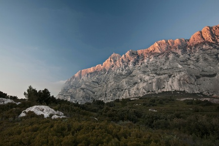 Mont Sainte Victoire in Provence, France