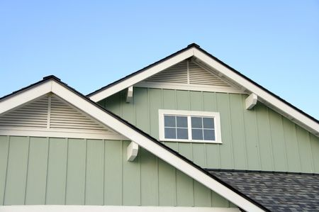 Photo for Roof Top Eaves - Royalty Free Image