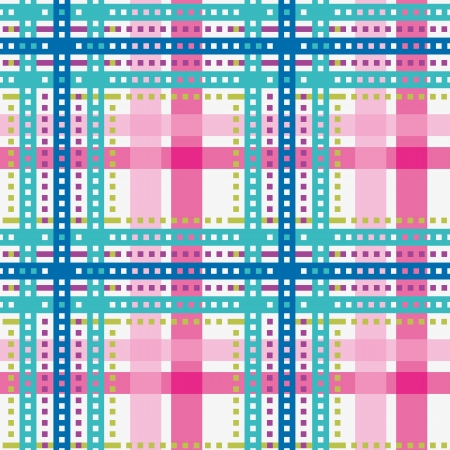 Tartan, plaid seamless pattern, bright color